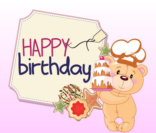 祝福:生日快乐!