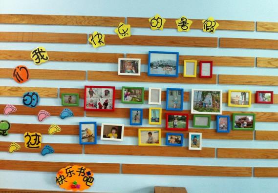 在展示类型方面幼儿园照片墙设计主要